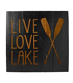 Cathy's Concepts Rustic Lake House Wooden Wall Art