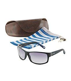 Fossil® Matte Wrap Sunglasses