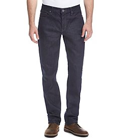 Perry Ellis® Slim Flat Front Pants