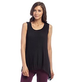 Joan Vass® Pleated Tunic