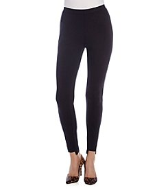 Joan Vass® Hi-Low Jeggings