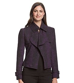 Anne Klein® Drape Front Jacket