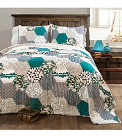 Lush Decor Briley 3-pc. Quilt Set