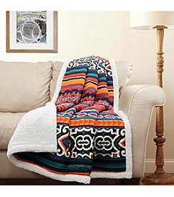 Lush Decor Bettina Sherpa Throw