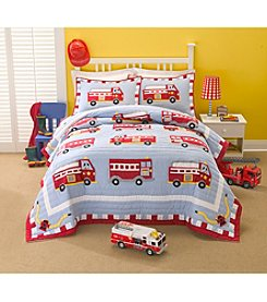 My World Fire Truck Bedding Collection