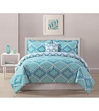 Bed Threads Avery Geo 3-pc. Reversible Comforter Set