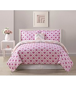 Bed Threads Fine Line 3-pc. Reversible Quilt Set