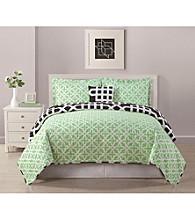 Bed Threads Marmara 3-pc. Reversible Quilt Set