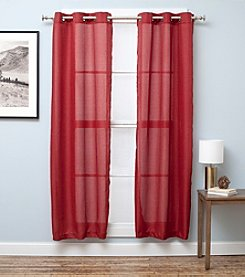 Home Fashions Bridgewater Chambray Window Curtain