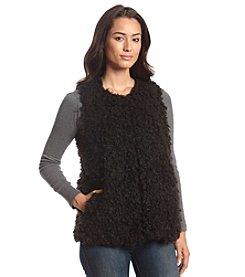 Vince Camuto® Shaggy Fuax Fur Vest