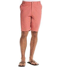 John Bartlett Consensus Men's Flat Front Solid Shorts
