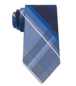 John Bartlett Statements Men's Big Plaid Patterned Tie
