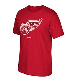 NHL® Detroit Red Wings Men's Short Sleeve Jersey Crest Tee