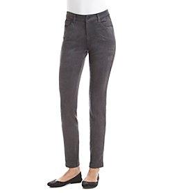 Kensie Jeans Faux Suede Skinny Pants