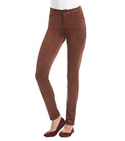 Kensie® Jeans Faux Suede Skinny Pants