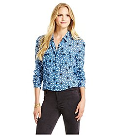 Jessica Simpson Printed Top