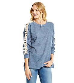 Jessica Simpson Lace Trim Sweater