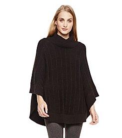 Vince Camuto® Rib Stitch Poncho Sweater