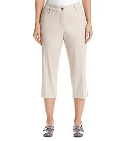 Studio Works® No Gap Twill Crop Pants