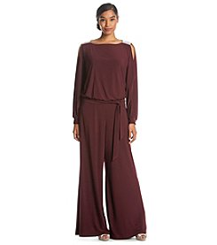 MSK® Blouson Belted Jumpsuit