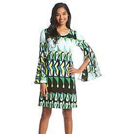 Prelude Woven Patterned A-Line Dress