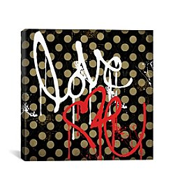 iCanvas Love Me I by Color Bakery Canvas Print