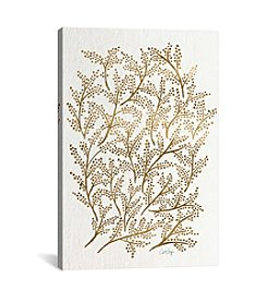 iCanvas Gold Branches Artprint by Cat Coquillette Canvas Print