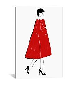 iCanvas Red Coat by Judith van den Hoek Canvas Print
