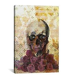 iCanvas Skulls and Diamonds by Natasha Westcoat Canvas Print