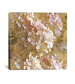 iCanvas Gilded Hydrangea I by All That Glitters Canvas Print