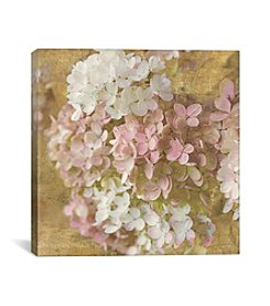 iCanvas Gilded Hydrangea II by All That Glitters Canvas Print