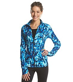 Exertek® Smear Print Zip Jacket