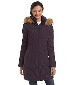 Jessica Simpson Three-Quarter Puffer Coat