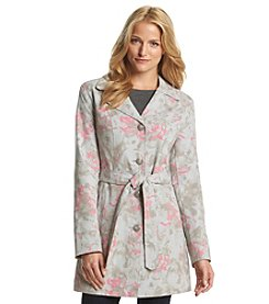 Relativity® Printed Belted Jacket