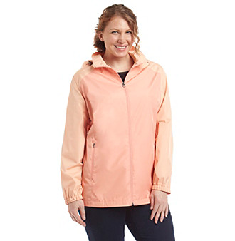 Breckenridge® Plus Size Colorblock Active Jacket plus size,  plus size fashion plus size appare
