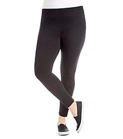 Laura Ashley® Plus Size Ponte Leggings