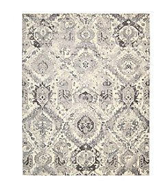 Nourison Twilight Ivory Grey Area Rug