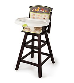 Summer Infant® Classic Comfort™ Wood High Chair - Fox and Friends