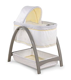 Summer Infant® Bentwood Bassinet With Motion - Grey
