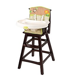 Summer Infant® Classic Comfort™ Wood High Chair - Swingin' Safari