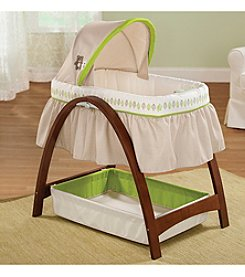 Summer Infant® Bentwood Bassinet With Motion - Babytime Brown