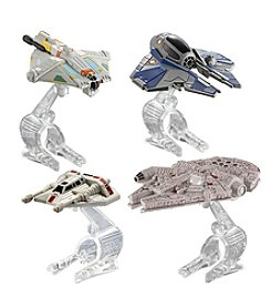 Mattel® Hot Wheels Star Wars® Starship 4-Pack