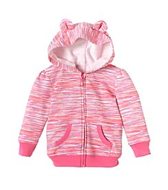 mix&MATCH Baby Girls' 3-24 Month Long Sleeve Hoodie