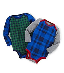 Chaps® Long Sleeve Patterned 2-pc. Bodysuite Set