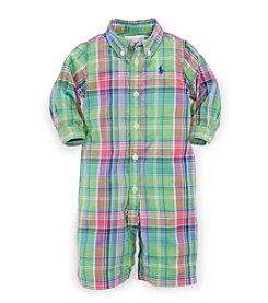 Ralph Lauren® Baby Boys' Plaid Coveralls