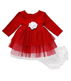 Sweet Heart Rose® Baby Girls' Tiered Knit Dress