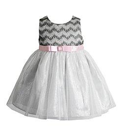 Sweet Heart Rose® Baby Girls' Woven Dress with Belt