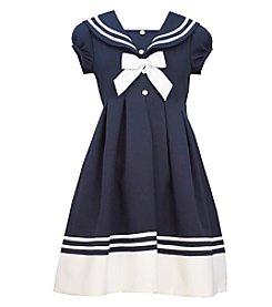 Bonnie Jean® Girls' 4-6X Sailor Collar Dress