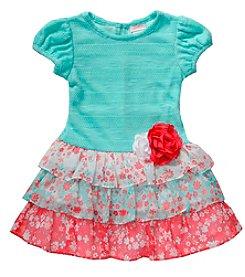 Sweet Heart Rose® Girls' 2T-6X Tiered Ruffle Dress