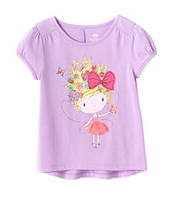 Mix & Match Girls' 2T-6X Fairy Cute Puff Sleeve Tee